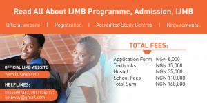 What Is IJMB And How To Register For The IJMBE Programme?