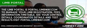 IJMB Portal Website