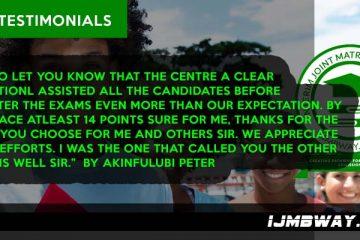 IJMB Testimonials