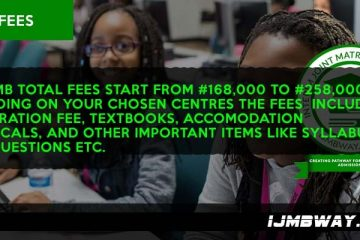 IJMB Tuition fees