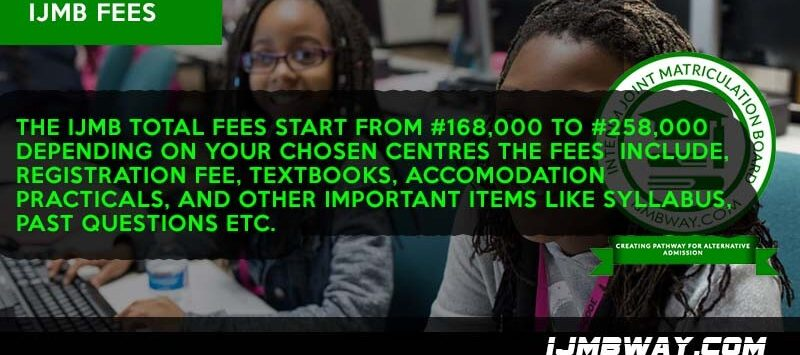 IJMB Tuition fees