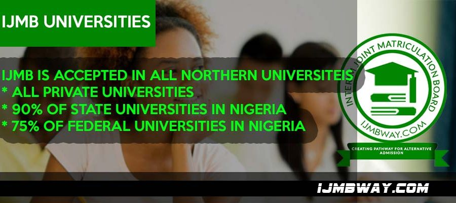 IJMB universities