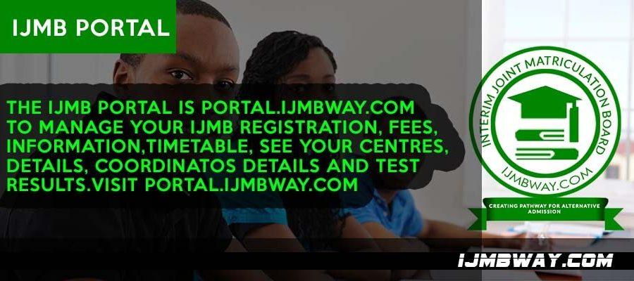 IJMB portal